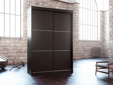 ארון הזזה מודרני 2 דלתות. הפרטים בכתבה.