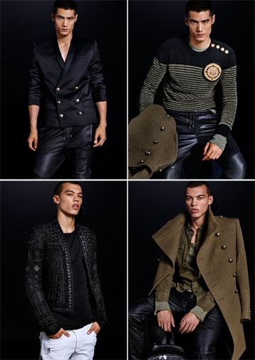"""""""אני מאוד אוהב את מעיל האוברסייז הגברי וכתפיים בעלות מראה מחויט חזק, היוצרים סילואט מלא כוח"""". בגדי הגברים של בלמן ל-H&M (צילום: הנס מוריץ)"""
