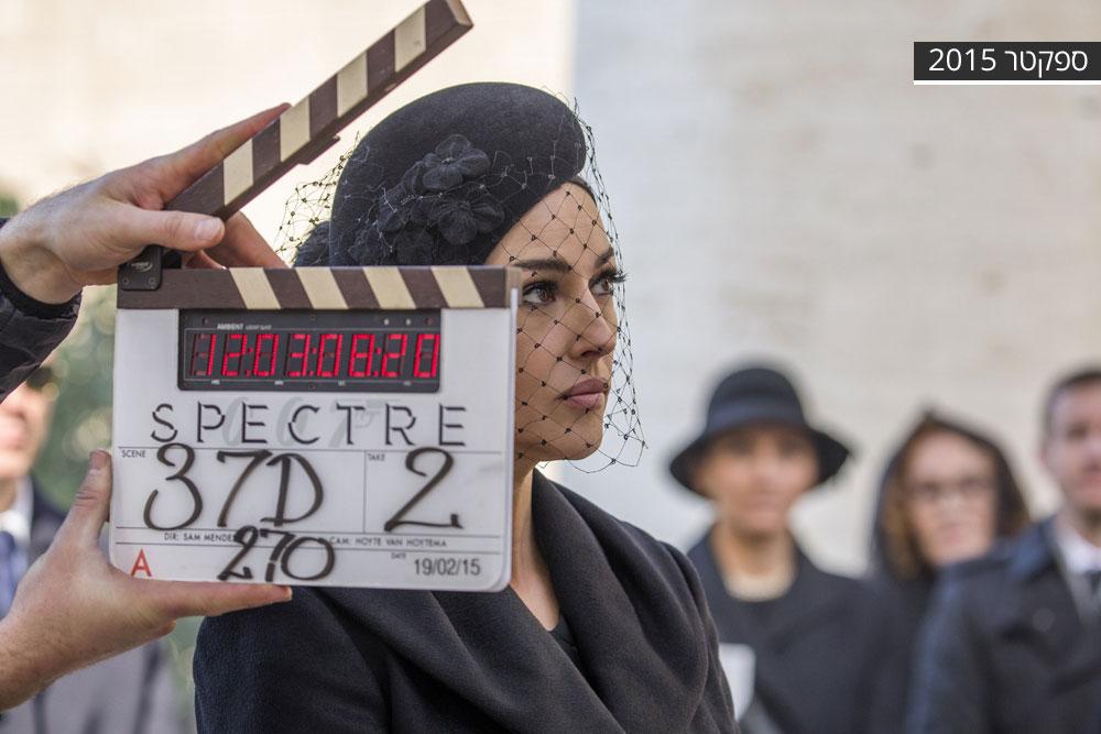 """""""אני אישה אמיתית, לא נערת בונד. I'm a Bond Woman"""". מוניקה בלוצ'י"""