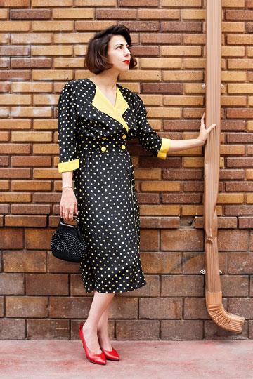 אורטל בן דיין. ''קהל היעד של משכית היו נשים אשכנזיות מבוססות והיא הקפידה להשתמש בדוגמניות לבנות כפניו של בית האופנה'' (צילום: ענבל מרמרי)