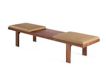 ספסל-שולחן ב''אייטמס''. 1,200 במקום 2,200 (באדיבות גלריה Items)