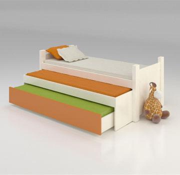 1,750 שקלים למיטה משולשת ב''רהיטי דורון'' (צילום: מנחם עוז)