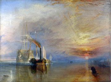 הציור של טרנר. אנלוגיה להזדקנותו של הגיבור (ציור: cc,Turner)
