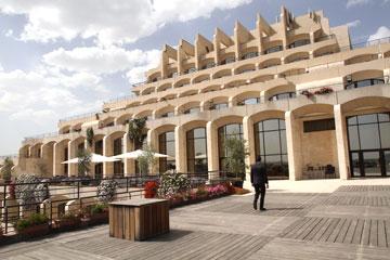 מלון ''היאט'' בירושלים. רזניק הטביע חותם על העיר (צילום: שלומי כהן)