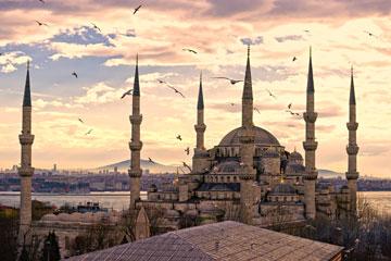המסגד הכחול באיסטנבול. צילומים מעולים של העיר (צילום: shutterstock)