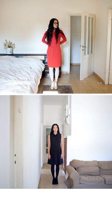 גרטרוד. 20 אחוז הנחה על שמלות החורף (צילום: רוני כנעני)
