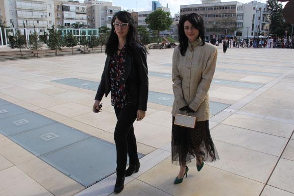 נינט ואחותה (ועוד מעט המשפחתולוגיה מסתבכת, תתכוננו) (צילום: ניר פקין)
