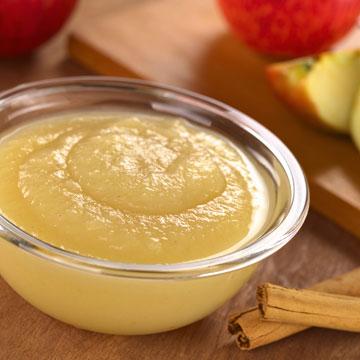 2 כפות מחית תפוח עץ במקום ביצה (צילום: thinkstock)