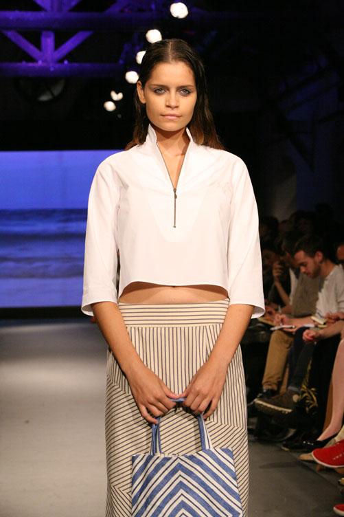 תצוגת האופנה של אילנה אפרתי. אווירה נינוחה (צילום: ענבל מרמרי)