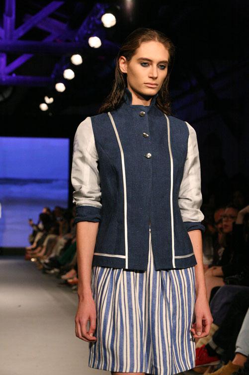 תצוגת האופנה של אילנה אפרתי. עשור עבר מאז העלתה המעצבת בפעם האחרונה תצוגת אופנה (צילום: ענבל מרמרי)