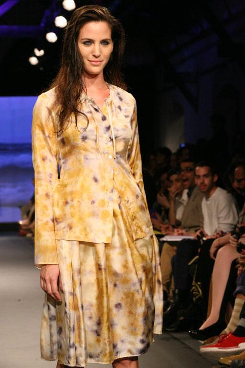 תצוגת האופנה של אילנה אפרתי. איכות בלתי מתפשרת (צילום: ענבל מרמרי)