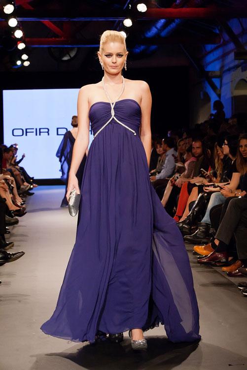 גזרות מיושנות. שמלות הערב של אופיר דהאן (צילום: ענבל מרמרי)