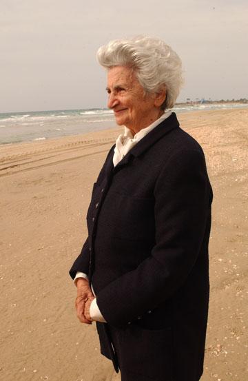 לאה גוטליב. ''היא החלה מכלום וכבשה את כל העולם'', אומרת אילה רז (צילום: אלעד גרשגורן)