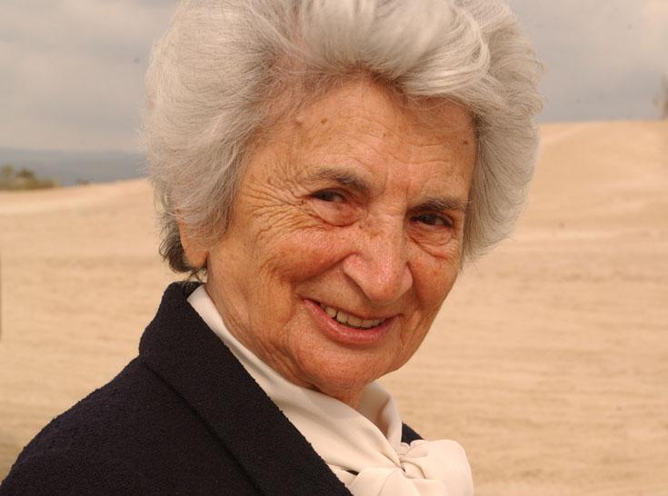 לאה גוטליב. הלכה לעולמה היום (שבת) בביתה בתל אביב (צילום: אלעד גרשגורן)