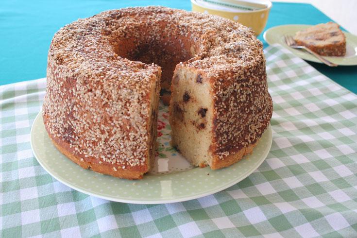 עוגת טחינה (צילום: אסנת לסטר)