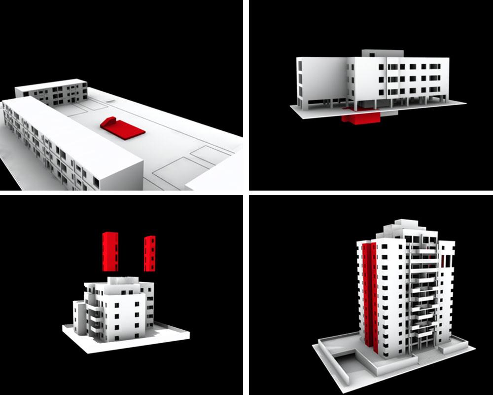הדמיה: אדריכל ניר רותם, ספארו אדריכלים