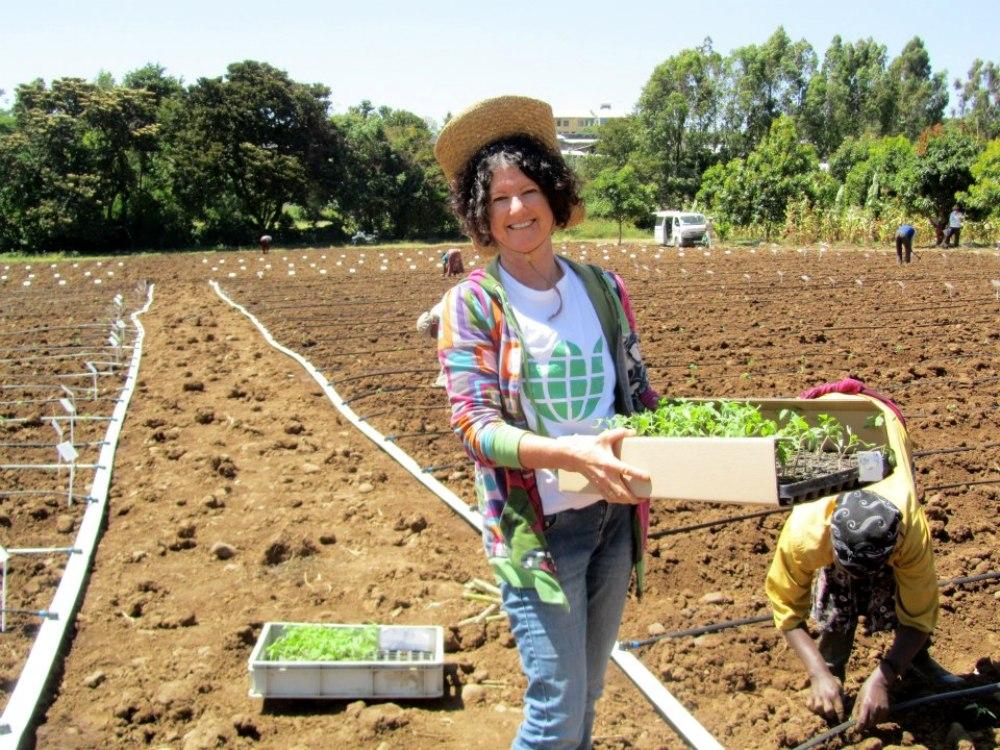 הדרך לפיתרון הרעב מתחילה בקיבוץ ישראלי, שושן הרן בשדות (צילום: באדיבות Fair Planet)