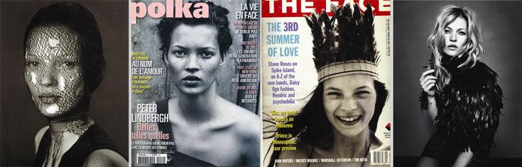 הצילומים בכתבה נעשו בהשראת תמונות איקוניות של קייט מוס, שלאחרונה הוציאה ספר המסכם 25 שנות קריירה. הנה המקור