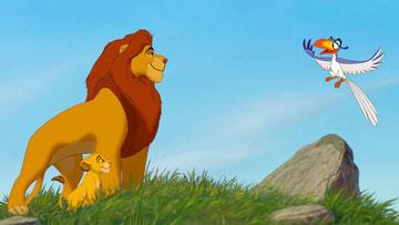 מי אמר אריה לבקן ולא קיבל? (צילום: Disney)