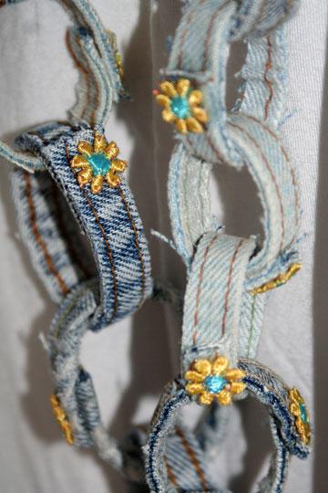 שרשרת מג'ינס (צילום: דליה ברנובר)