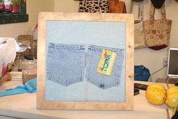 שום דבר לא הולך  לאיבוד. כיסי אחסון מג'ינס (צילום: דליה ברנובר)