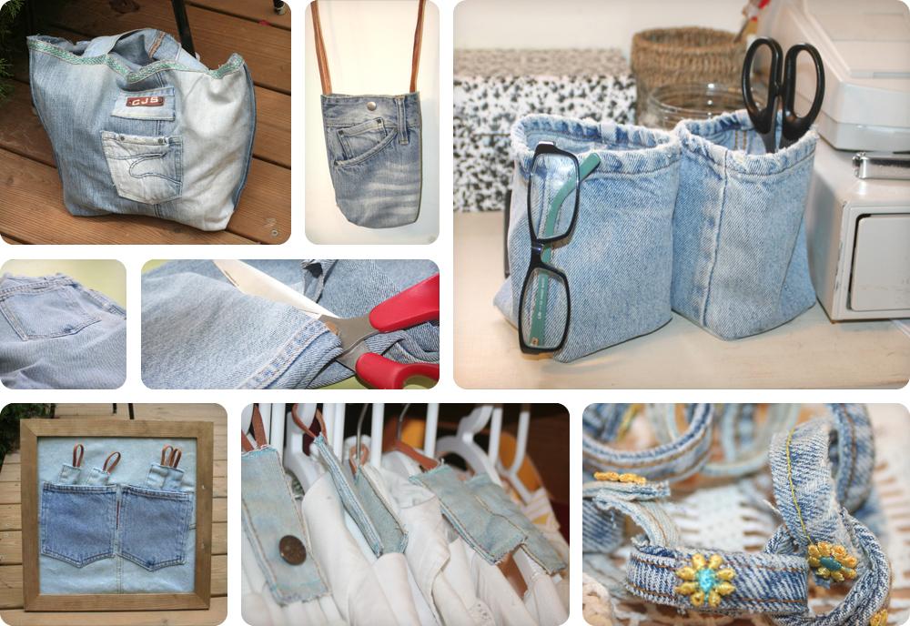 ג'ינס לנצח. שישה מוצרים מג'קט ומכנסי ג'ינס ישנים (צילום: דליה ברנובר)