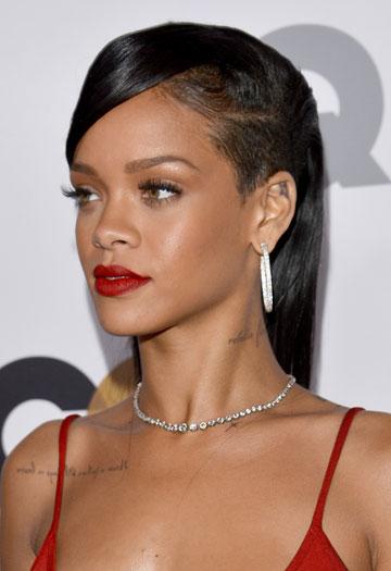 """""""היה מרגש לראות אותה"""". ריהאנה (צילום: gettyimages)"""