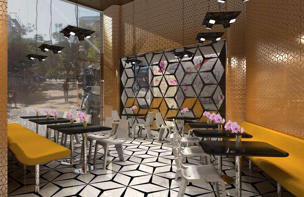 הדמיה: Sir Benjamin Tel Aviv designed by Karim Rashid