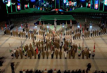 כאן מתקיימים הטקסים הממלכתיים בימי הזיכרון והעצמאות (צילום: חיים צח)