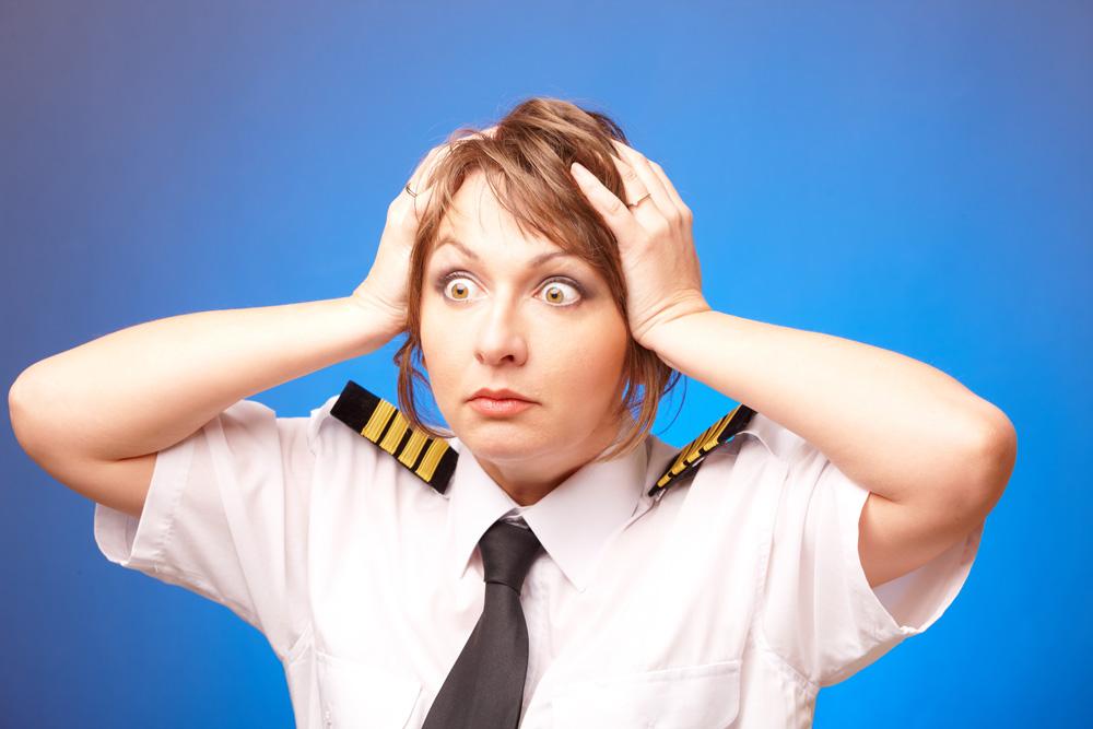 ''יו! גם מבצע בדיוטי פרי וגם יש לי טיסה! מה אני אמורה לעשות עכשיו?'' (צילום: shutterstock)