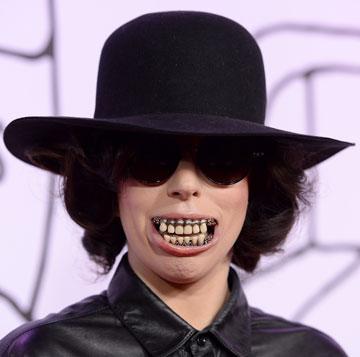 """""""אנחנו בכיוון יותר מתון ושיקי"""". ליידי גאגא, 2013 (צילום: gettyimages)"""