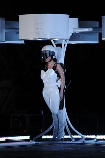 כבר אי אפשר באמת להתרגש ממנה. ליידי גאגא, 2013 (צילום: gettyimages)