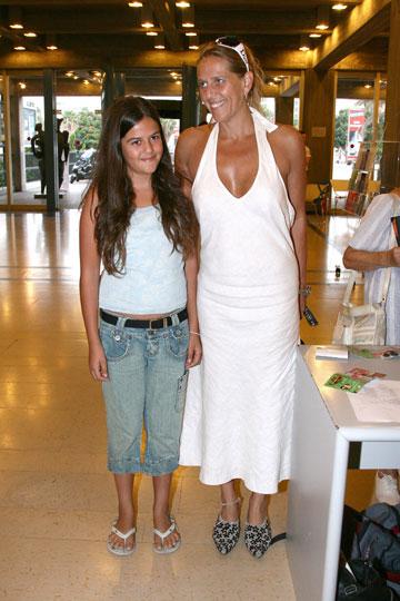 עם הבת זואי (צילום: שי וליץ)