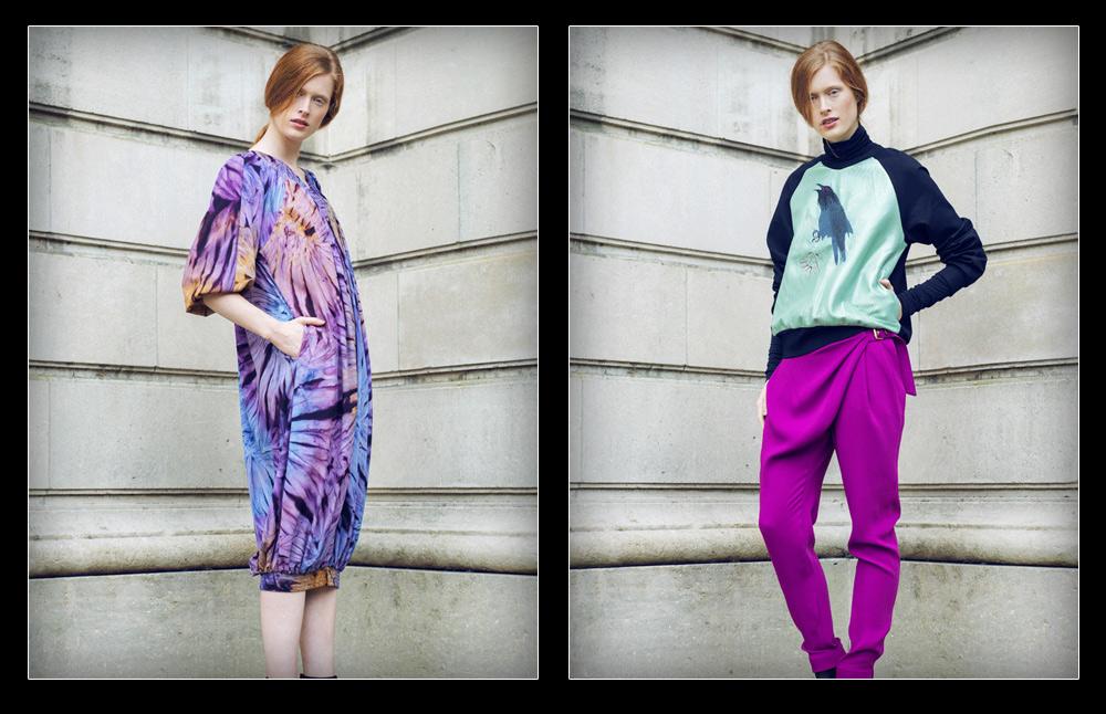 """קולקציית סתיו-חורף 2013-14 של סאמפל. """"צריך לעשות הפרדה בין מעצב לרשת אופנה""""  (צילום: Rachel Rebibo)"""