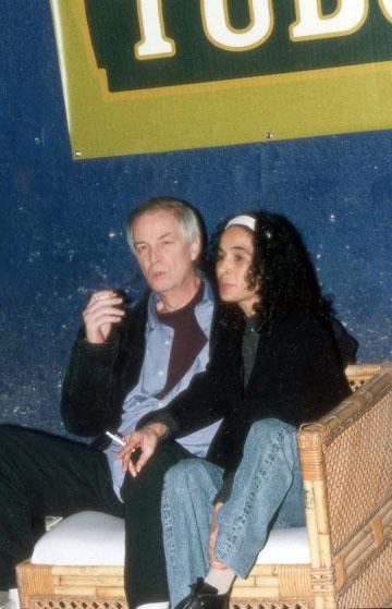 סגנון עקבי. אריק איינשטיין וסימה אליהו, 2000 (צילום: רפי דלויה)