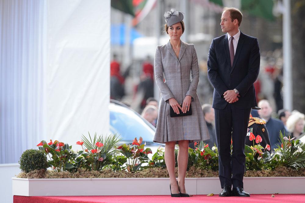 קייט מידלטון והנסיך וויליאם. כבר לא אופנתית? (צילום: gettyimages)