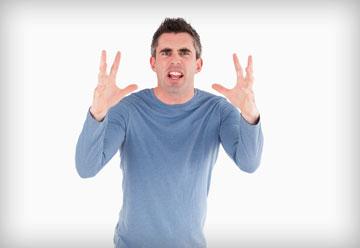לכעוס קצר: כעסתם? התעצבנתם? עכשיו, לעבור נושא (צילום: shutterstock)