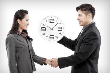 זמן שווה כסף - שעה של נתינה שווה לשעה של קבלה (צילום: shutterstock)