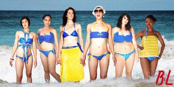 קולקציית בגדי ים משקיות איקאה של Adriana (מתוך ikeahackers.net)