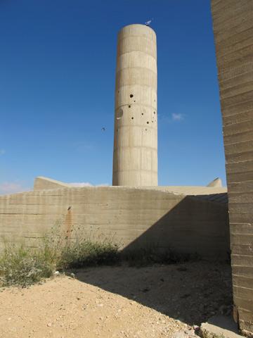 מגדל התצפית מתנשא לגובה של 18 מטר (צילום: מיכאל יעקובסון)