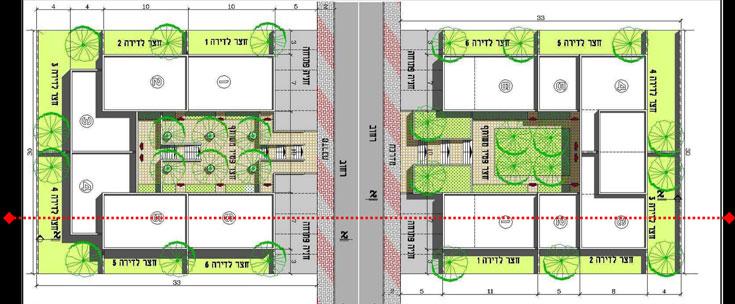 טיפוסי מגורים עתידיים בעיר טנטור. בניינים משותפים, צמודי קרקע וגם מתחמים קטנים שמקיפים גדר למי שמעוניין באופי קהילתי יותר