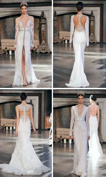 """תצוגת שמלות הכלה של ענבל דרור בניו יורק. """"אני מלבישה עכשיו את הכלה של דונלד טראמפ. חצי ניו יורק שלו"""" (צילום: dan lecca, new York)"""