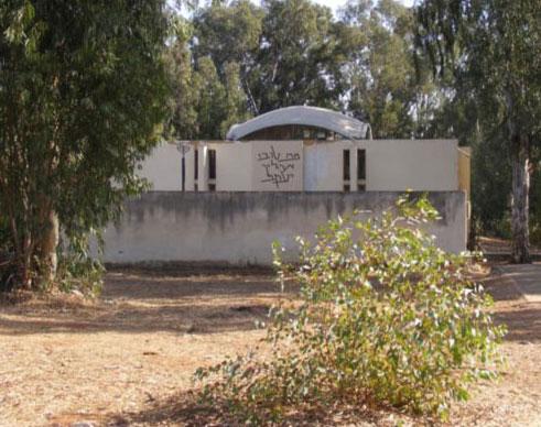 בניין בית הכנסת. מיועד לשימור (צילום: אדר' ליבנה שואף-רונן)