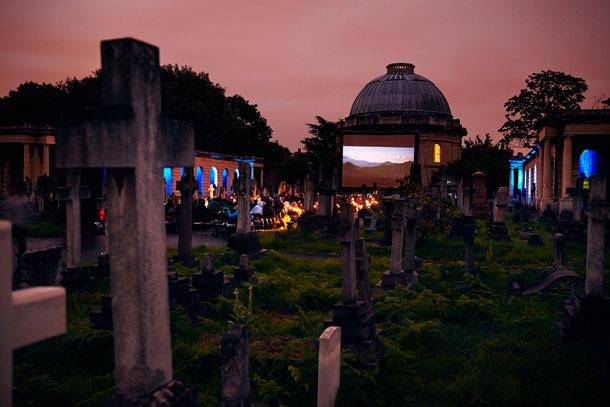 רק תביאו שמיכה וסלסלת פיקניק. הקולנוע הפתוח The Nomad Cinema (צילום: The Nomad Cinema)
