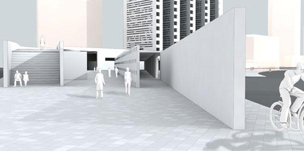 מגדלי מגורים - וקבורה. פרויקט הגמר של אדריכלית שרה שטרן, בצלאל