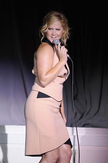 מדהים שהיא לא מדממת על הבמה. איימי שומר (צילום: gettyimages)