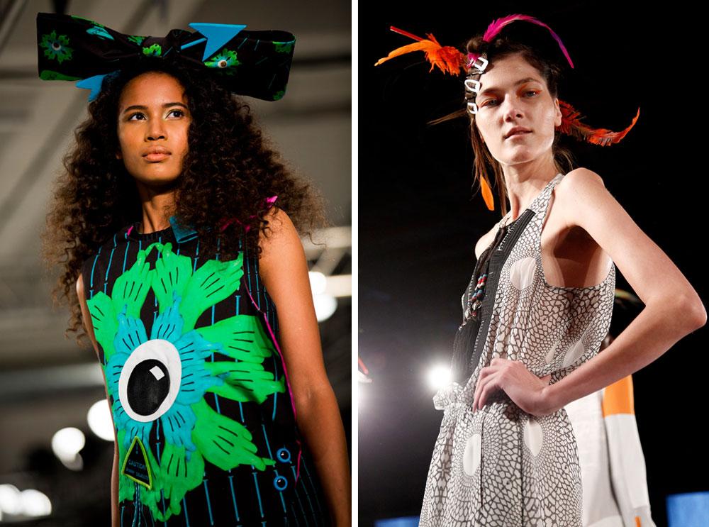 גונבים את ההצגה. LAMB (מימין) ו-Lisa Berry (צילום: gettyimages)