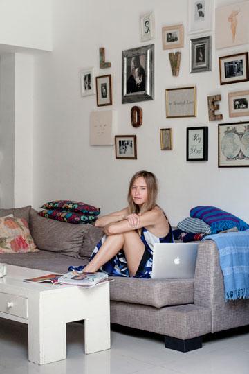 תמונות משפחתיות ומעוררות השראה. נסטיה ליסנסקי (צילום: רותם רייצ'ל חן)