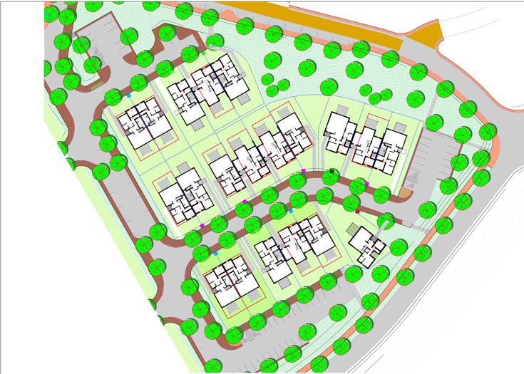 """חלק מתוכנית ההרחבה שבבנייה. """"שווי הקרקע מוערך ב-2 עד 2.5 מיליון שקל. אבל זה לא מה שהתושבים ישלמו, כשהם יידרשו לשלם. לפעמים משלמים 90 אחוז מערך הקרקע, לפעמים 50, לפעמים 30"""" (תוכנית: עופר ארז אדריכלים ושרון נוימן אדריכלים  צוות תכנון: עופר ארז, שרון נוימן והילה צור)"""