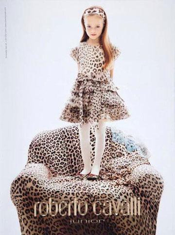 """כריסטינה פימנובה בקמפיין של רוברטו קוואלי. """"היופי בא מבפנים"""""""